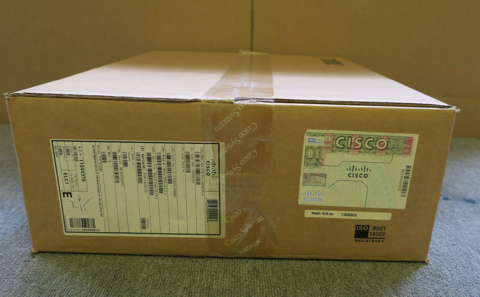 New Cisco 24 Port Ws C2960 24tt L Catalyst 2960 Series Ethernet Switch Wsc296024ttl Network